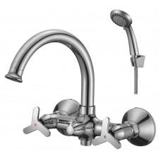 Смеситель для ванны с поворотным изливом RS40-83