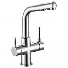 Смеситель для кухни c подключением к фильтру с питьевой водой Rossinka Z35-31