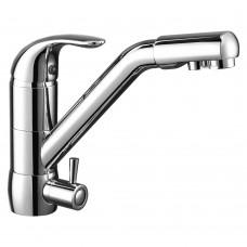 Смеситель для кухни c подключением к фильтру с питьевой водой Rossinka Z40-24