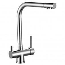 Смеситель для кухни c подключением к фильтру с питьевой водой Rossinka Z40-25