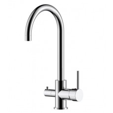 Смеситель для кухни с подключением к фильтру с питьевой водой Rossinka Z35-28