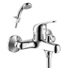 Смеситель для ванны с монолитным изливом Rossinka Y40-30