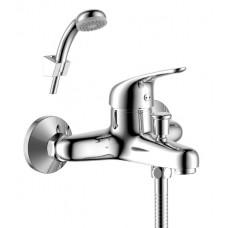 Смеситель для ванны с монолитным изливом Rossinka Y40-31