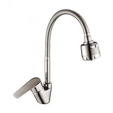 Смеситель для кухни с гибким изливом S35-26