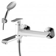 Смеситель для ванны с поворотным изливом 170 мм Rossinka W35-33
