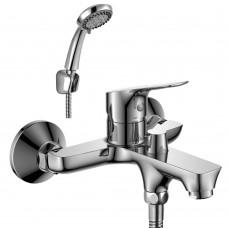 Смеситель для ванны с монолитным изливом Rossinka RS29-31