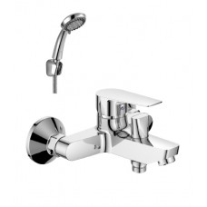 Смеситель для ванны с монолитным изливом Rossinka S35-31