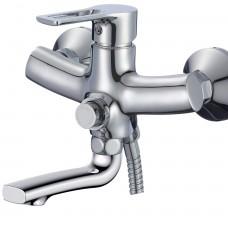 Смеситель для ванны с поворотным изливом 140 мм RS43-36